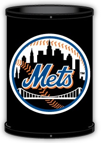 New York Mets Trashcan