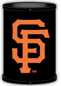 San Francisco Giants Trashcan