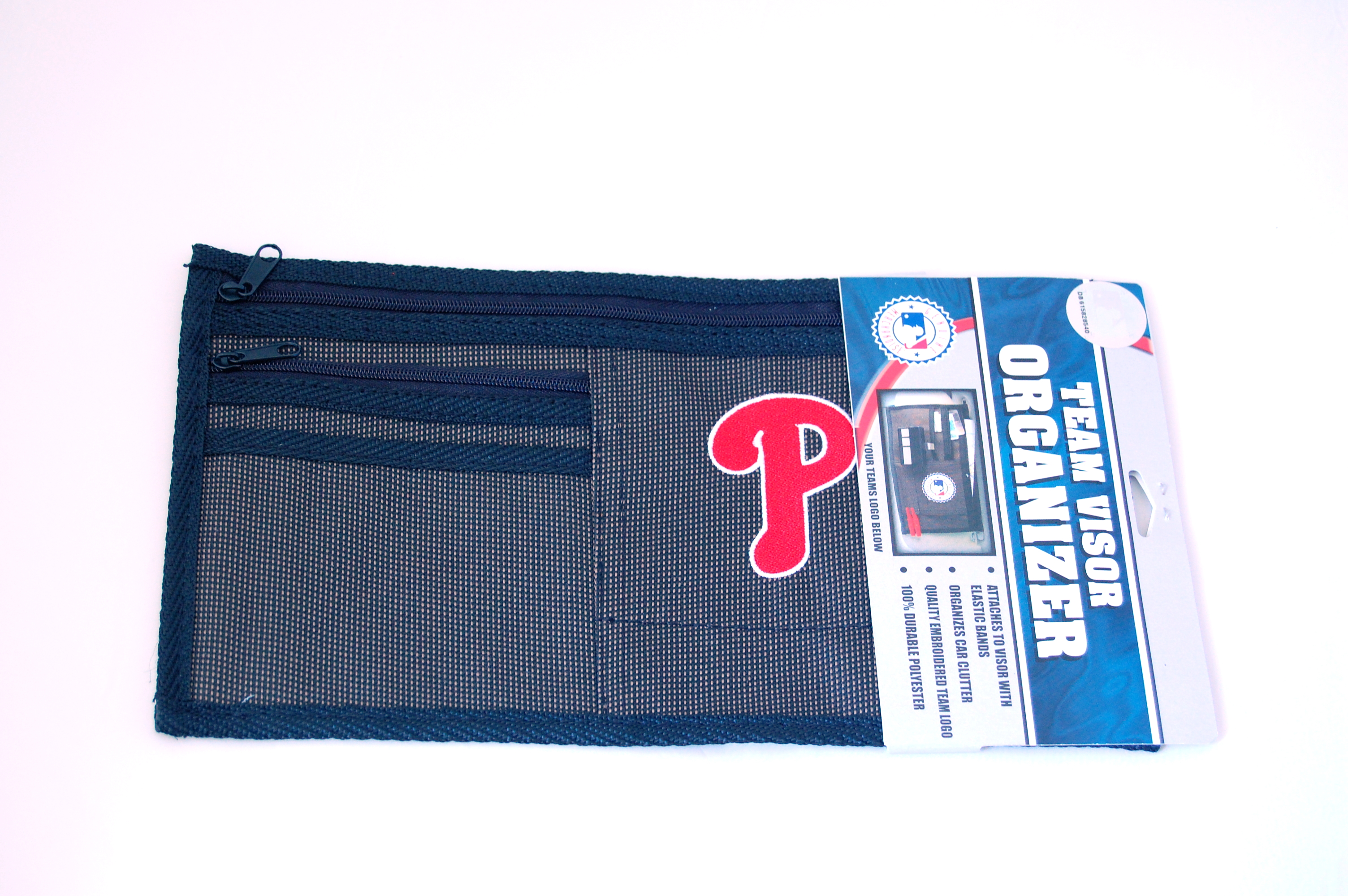 Philadelphia Phillies Car Visor Organizer