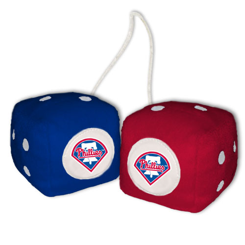 Philadelphia Phillies Fuzzy Dice