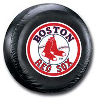 Boston Red Sox Tire Cover <B>BLOWOUT SALE</B>
