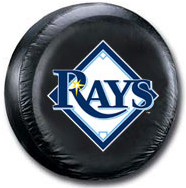 Tampa Bay Rays Tire Cover <B>BLOWOUT SALE</B>