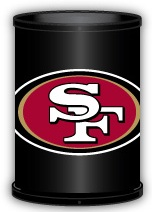 San Francisco 49ers Trashcan