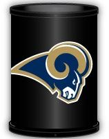 St. Louis Rams Trashcan