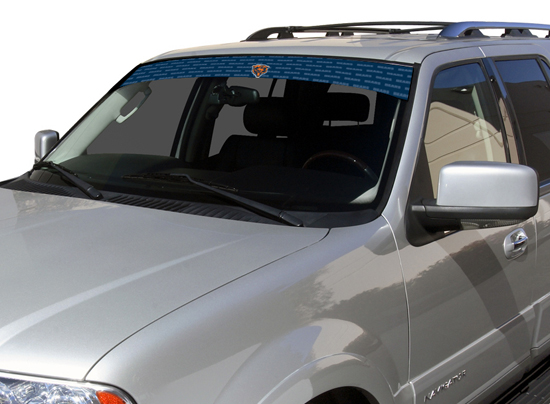 Chicago Bears Visor Window Film