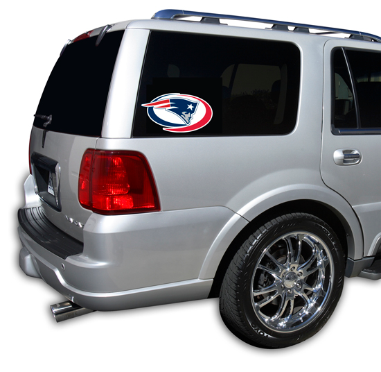 New England Patriots Window Decal