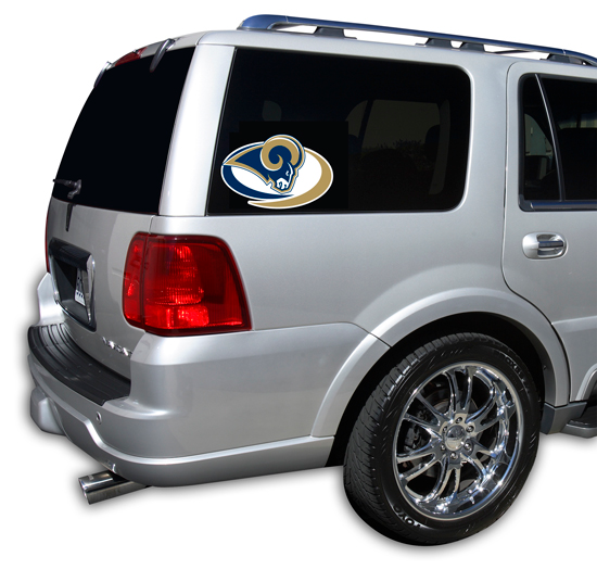 St. Louis Rams Window Decal