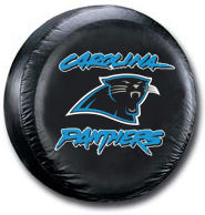 Carolina Panthers Tire Cover