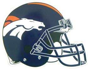 Denver Broncos Helmet Magnet