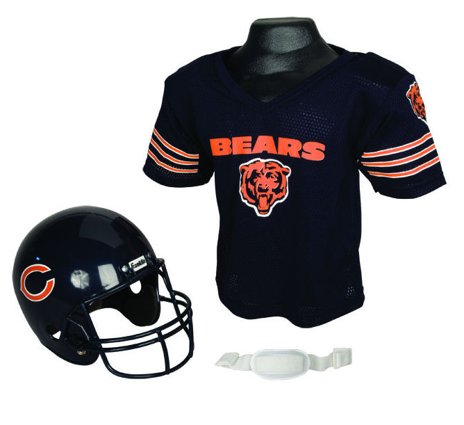 Chicago Bears NFL Youth Uniform Set Halloween Costume