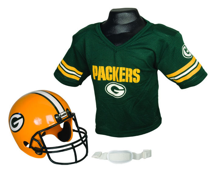 Green Bay Packers NFL Youth Uniform Set Halloween Costume