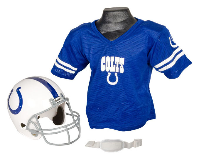 Indianapolis Colts NFL Youth Uniform Set Halloween Costume