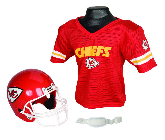 Kansas City Chiefs NFL Youth Uniform Set Halloween Costume