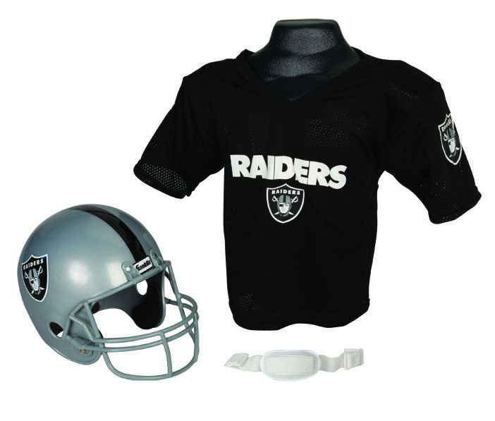 Oakland Raiders NFL Youth Uniform Set Halloween Costume