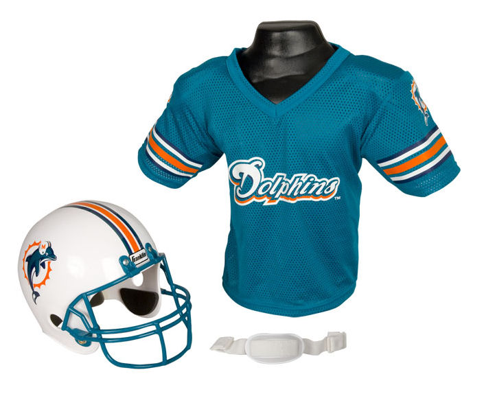 Miami Dolphins NFL Youth Uniform Set Halloween Costume
