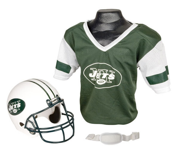 New York Jets NFL Youth Uniform Set Halloween Costume