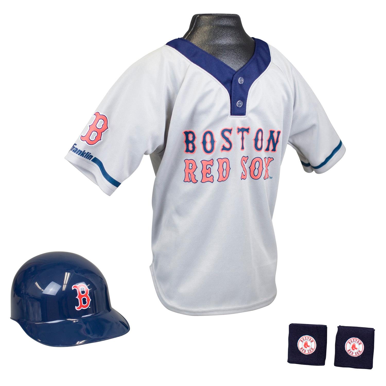 Boston Red Sox MLB Youth Uniform Set Halloween Costume
