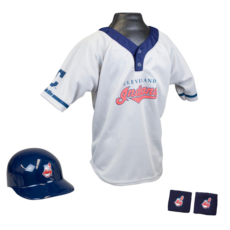 Cleveland Indians MLB Youth Uniform Set Halloween Costume