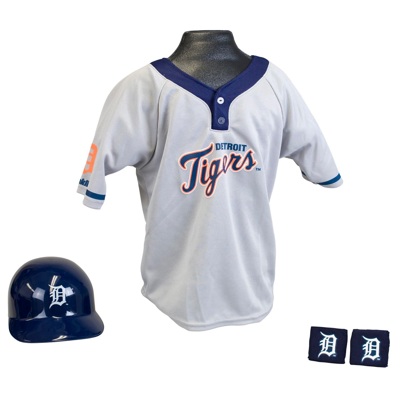 Detroit Tigers MLB Youth Uniform Set Halloween Costume
