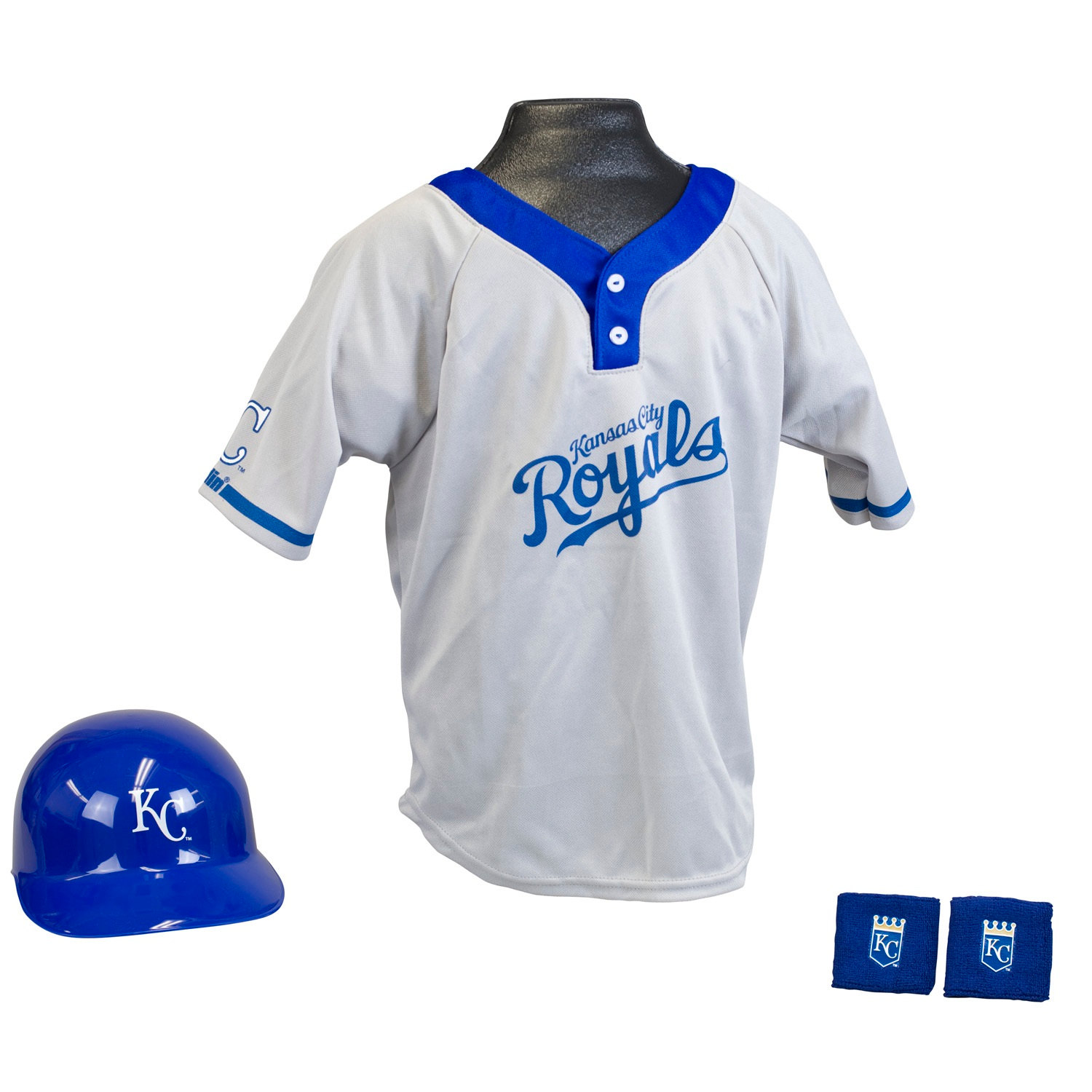 Kansas City Royals MLB Youth Uniform Set Halloween Costume