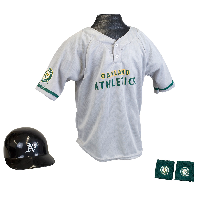 Oakland Athletics MLB Youth Uniform Set Halloween Costume