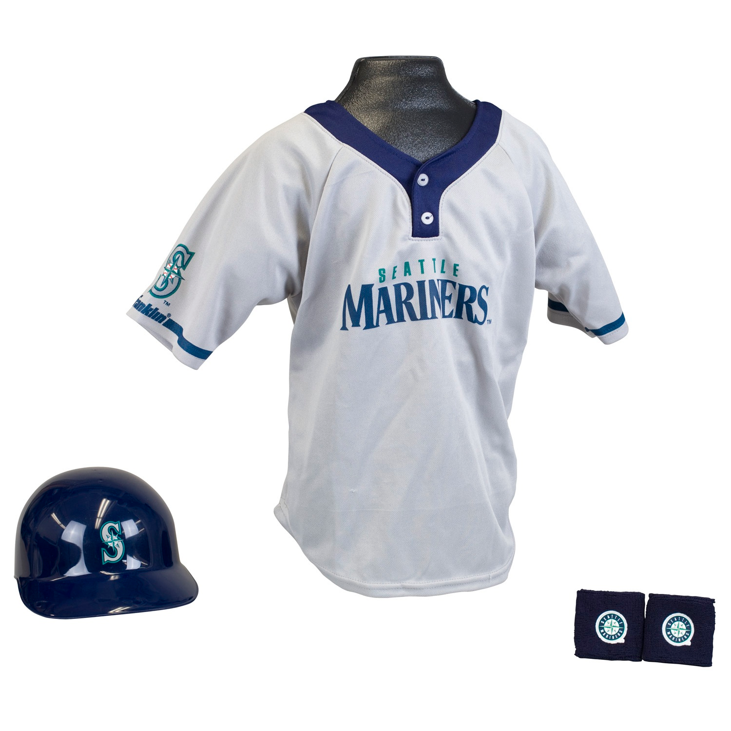 Seattle Mariners MLB Youth Uniform Set Halloween Costume