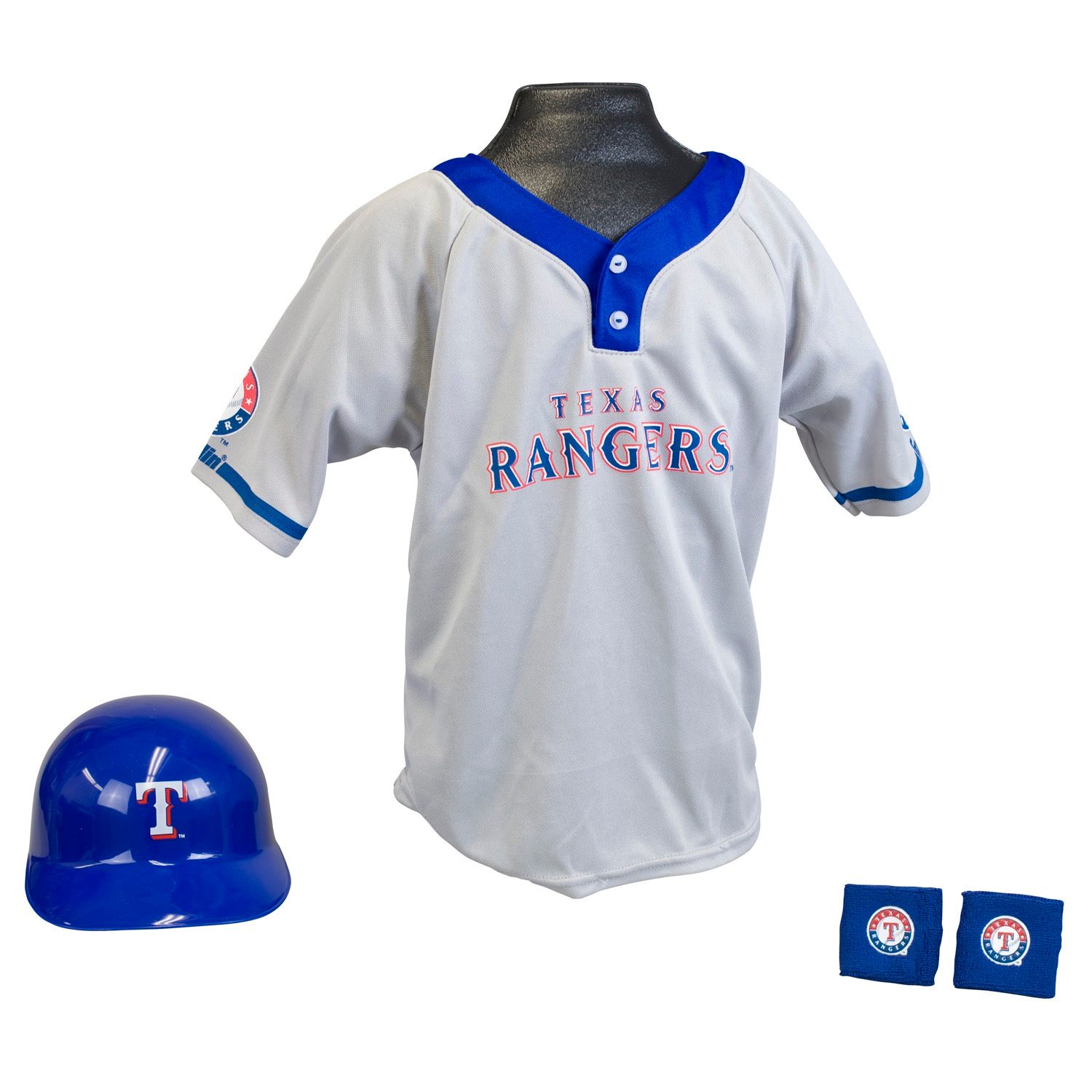 Texas Rangers MLB Youth Uniform Set Halloween Costume