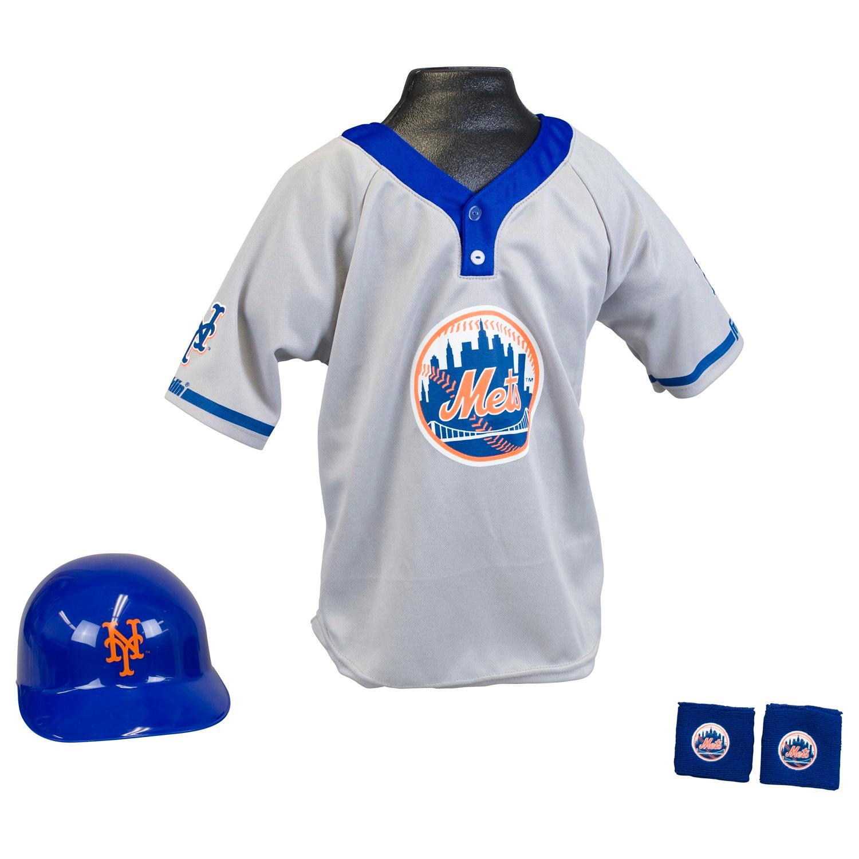 New York Mets MLB Youth Uniform Set Halloween Costume
