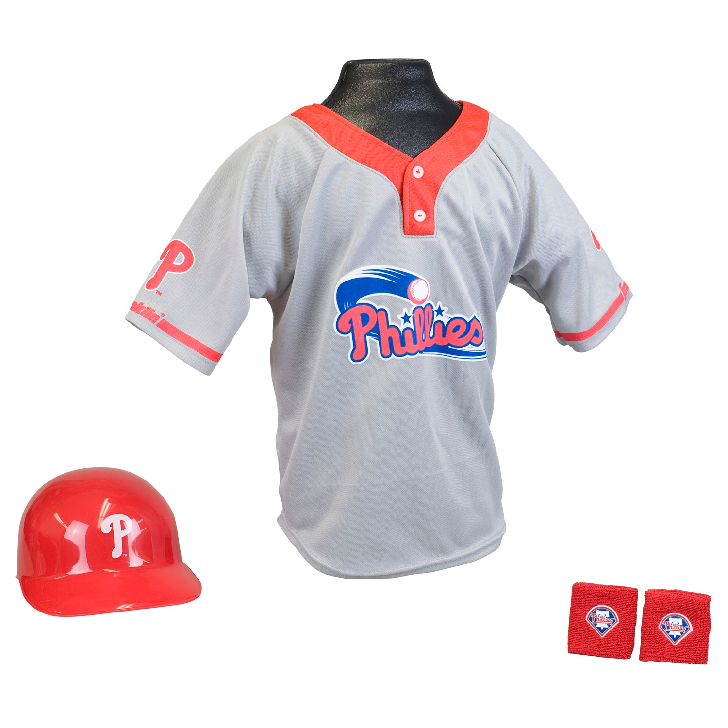 Philadelphia Phillies MLB Youth Uniform Set Halloween Costume