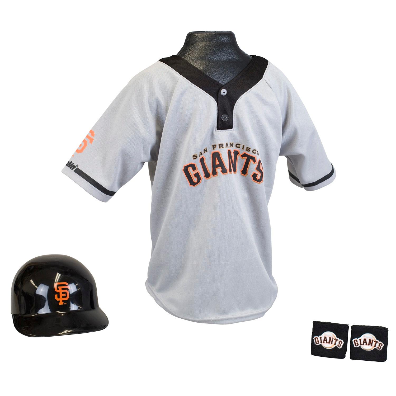 San Francisco Giants MLB Youth Uniform Set Halloween Costume