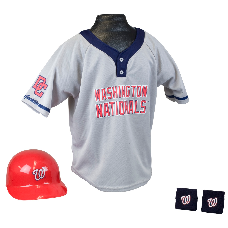 Washington Nationals MLB Youth Uniform Set Halloween Costume