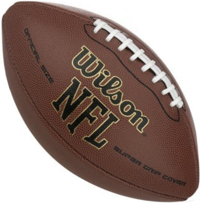 NFL Super Grip Football Deflated