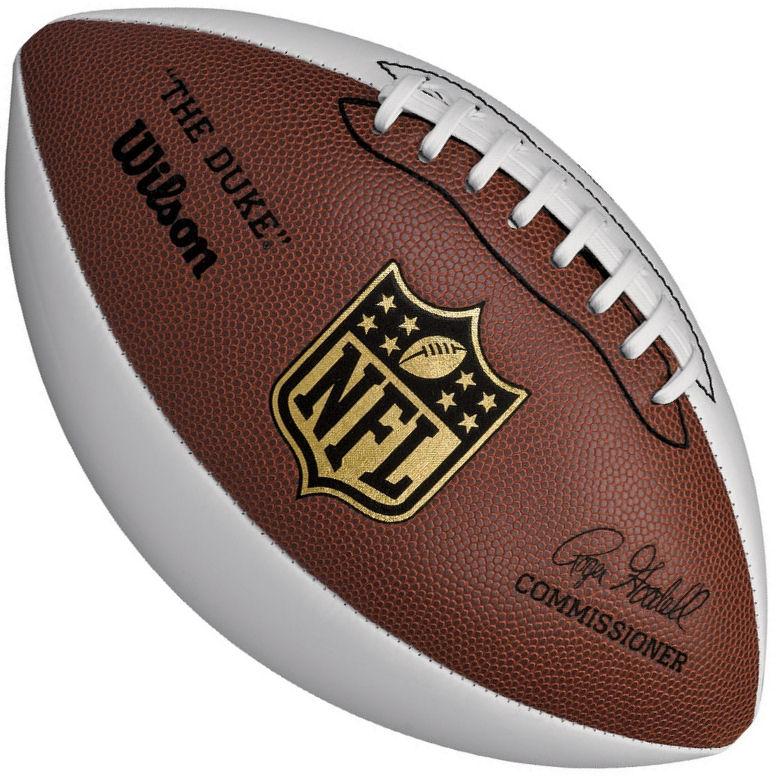 Wilson NFL 3 Panel Autograph Football F1192R