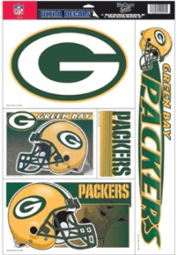 Green Bay Packers Static Cling