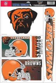 Cleveland Browns Static Cling