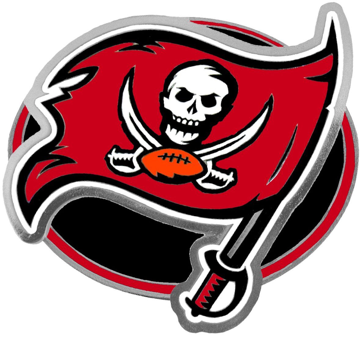 Tampa Bay Buccaneers Hitch Cover