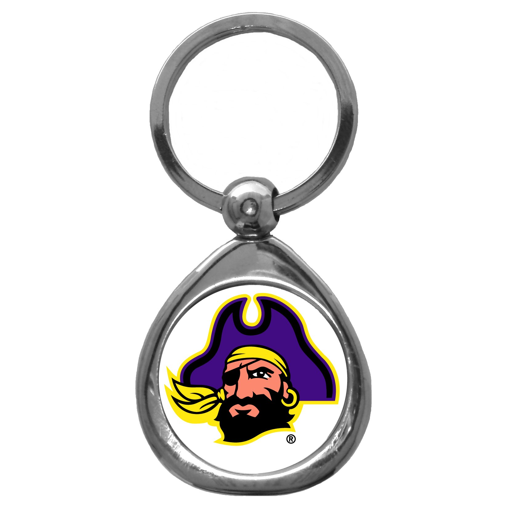 East Carolina Pirates NCAA Key Ring