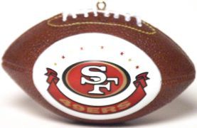 San Francisco 49ers Ornaments Football
