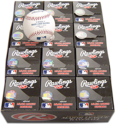 Rawlings Mlb Official Baseball - 12 count
