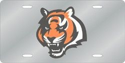 Cincinnati Bengals License Plate Laser Cut