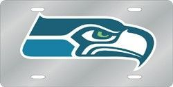 Seattle Seahawks License Plate Laser Cut