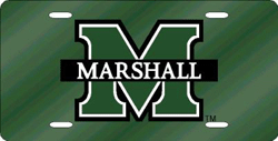 Marshall Thundering Herd License Plate Laser Cut