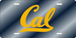 California (CAL) Golden Bears License Plate Laser Cut