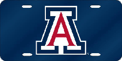Arizona Wildcats License Plate Laser Cut