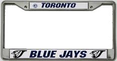 Toronto Blue Jays CHROME License Plate Frame