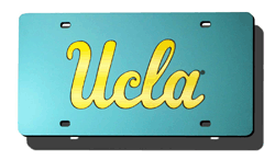 UCLA Bruins License Plate Laser Cut (Blue)