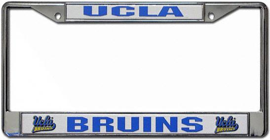 UCLA Bruins License Plate Frame Chrome