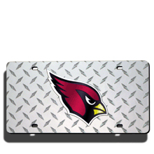 Arizona Cardinals License Plate Laser Tag