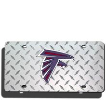 Atlanta Falcons License Plate Laser Tag