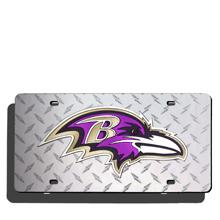 Baltimore Ravens License Plate Laser Tag
